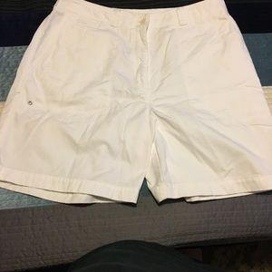 Ralph Lauren size 12 chino style white shorts